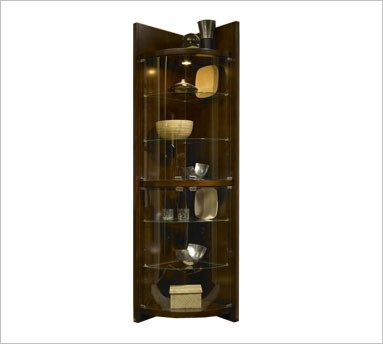 Corner Curios Are Elegant Stylish And Their Chic Designs Available That Too In A Wide Price Range Is An Added Advantage With Glass Corner Curios