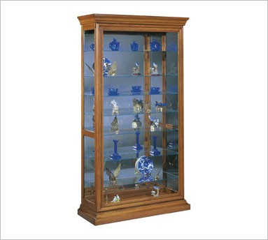 Corner cabinets for every home for Curio cabinet spot