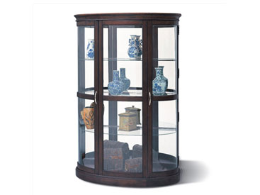 shot glass curio cabinet